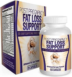 Postnatal Fat Burner Support Vitamins - Supplements - Pills - Post Pregnancy Fat Burning Weight Loss Supplement - Postpartum - 120 Capsules