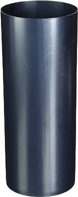 FIREFIX O100/2 Blauglanzblech 250 mm, ø 100 mm-Ofenrohre aus Stahlblech, 0,6 mm stark, gebläut, innenliegend gemufft, Längen lasergeschweißt