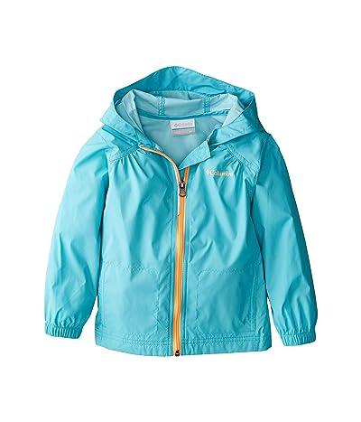Columbia Kids Switchbacktm Rain Jacket (Little Kids/Big Kids) (Geyser/Gulf Stream) Girl