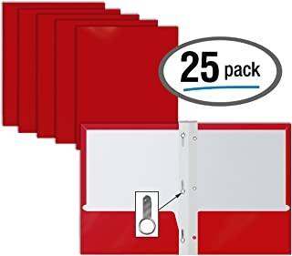 Best red poly folder with prongs Reviews