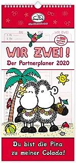 Sheepworld 45988 Partner Calendar 2020 Sheepworld Partner Planner 2020