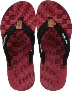 Aqualite Red Flip-Flops - 7 UK (41 EU) (LGV00164GRDBK07)