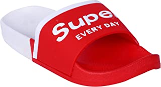 Walk Well Shoe Fashion EVA Kids Flip Flop Slipper Boys & Girls Red