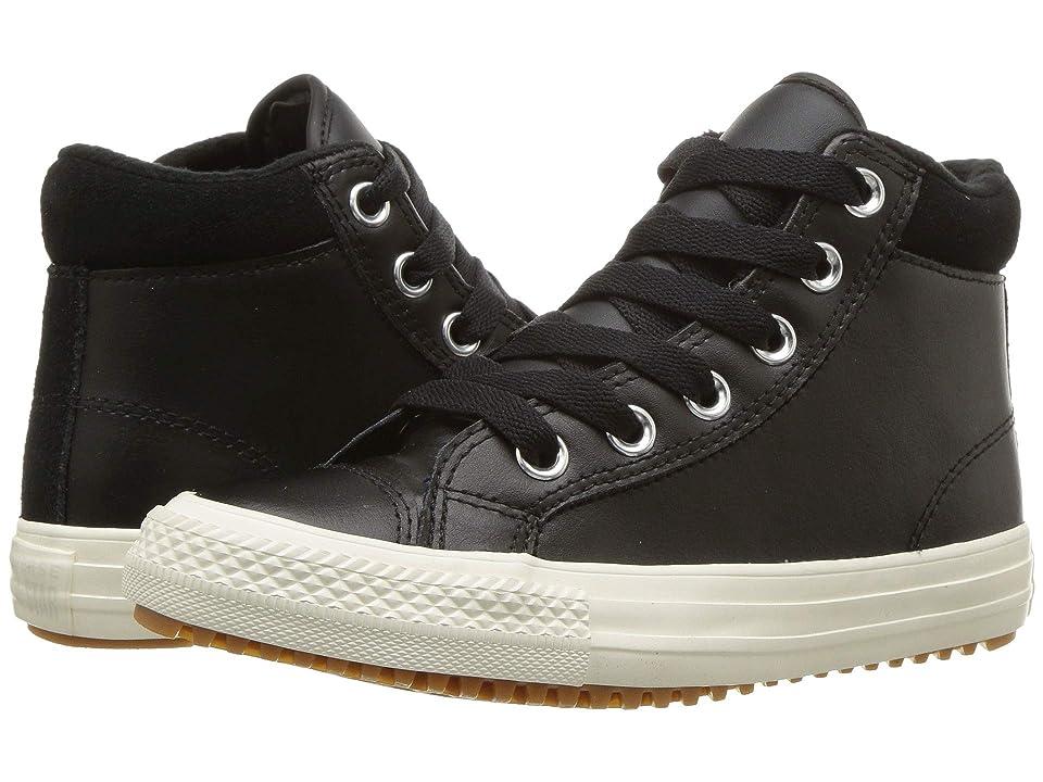 Converse Kids Chuck Taylor(r) All Star(r) Pc Boot Hi (Little Kid/Big Kid) (Black/Burnt Caramel/Black) Boy