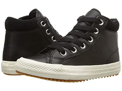 Converse Kids Chuck Taylor(r) All Star(r) Pc Boot Hi (Little Kid/Big Kid) (Black/Burnt Caramel/Black) Boy