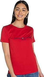 Tommy Hilfiger Women's Regular Hilfiger C-N T-Shirt