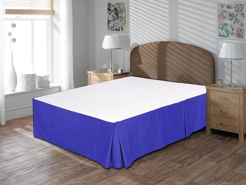 偏見エージェントレパートリー600スレッドカウントに1pc bed-skirt 18?