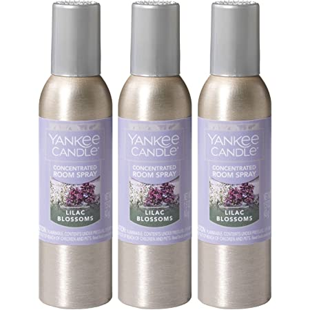 Amazon Com Yankee Candle Concentrated Room Spray 3 Pack Lilac Blossoms Home Kitchen