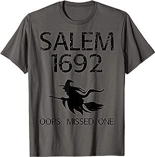 salem witch trials t shirt