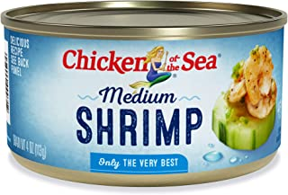 Chicken of The Sea Shrimp, Medium, 4 Ounce
