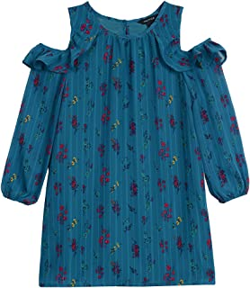 Nautica Toddler Girls Holiday Party Cold Shoulder Dress