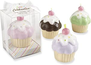 Kate Aspen Set of 4 Sweet Celebration Cupcake Candles (Discontinued by Manufacturer)