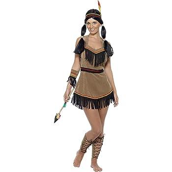 Smiffy 31882S, Disfraz de india para mujer, talla S: Smiffys ...