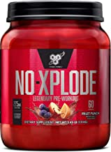 Sponsored Ad - BSN N.O.-XPLODE Pre Workout Supplement with Creatine, Beta-Alanine, and Energy, Flavor: Fruit Punch, 60 Ser...