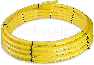 medium density polyethylene yellow gas pipe