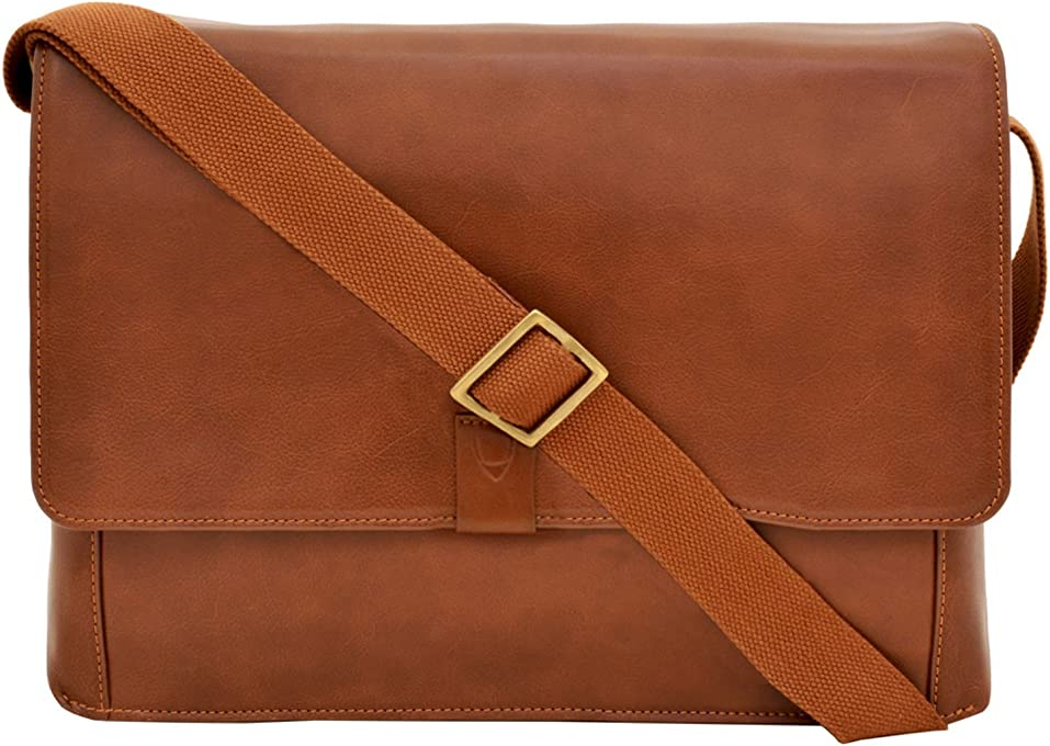 HIDESIGN Aiden Messenger Bag, Tan, AM-003