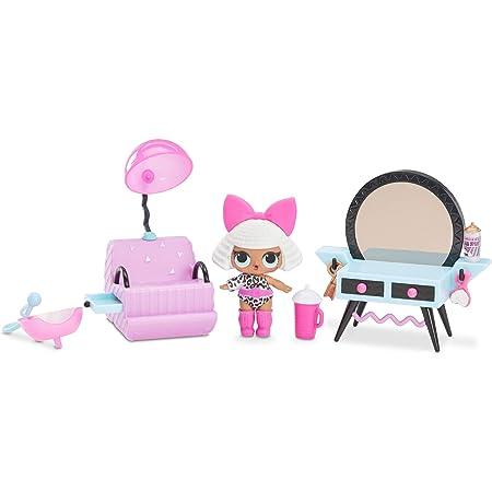 L O L Surprise 561743e7c Furniture With Bedroom Neon Q T Mehrfarbig Amazon De Spielzeug