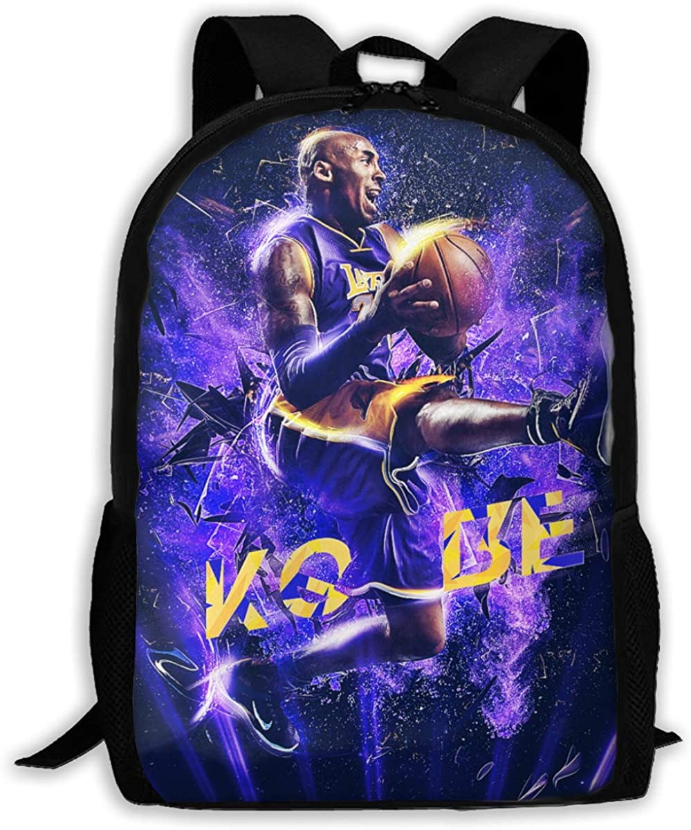 Maccabi Art LA Lakers Kids Backpack Raised 3D Ball