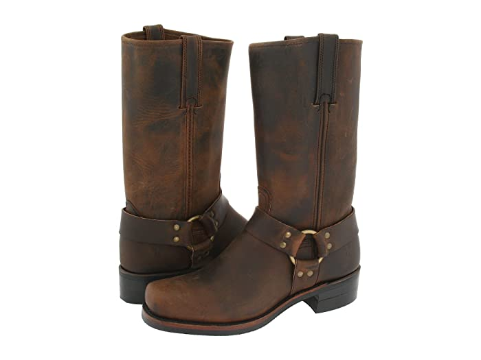 Frye  Harness 12R (Gaucho) Mens Pull-on Boots