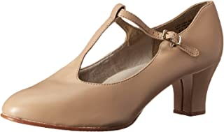 Capezio Jr. Footlight Zapato de Baile con Tira en T para