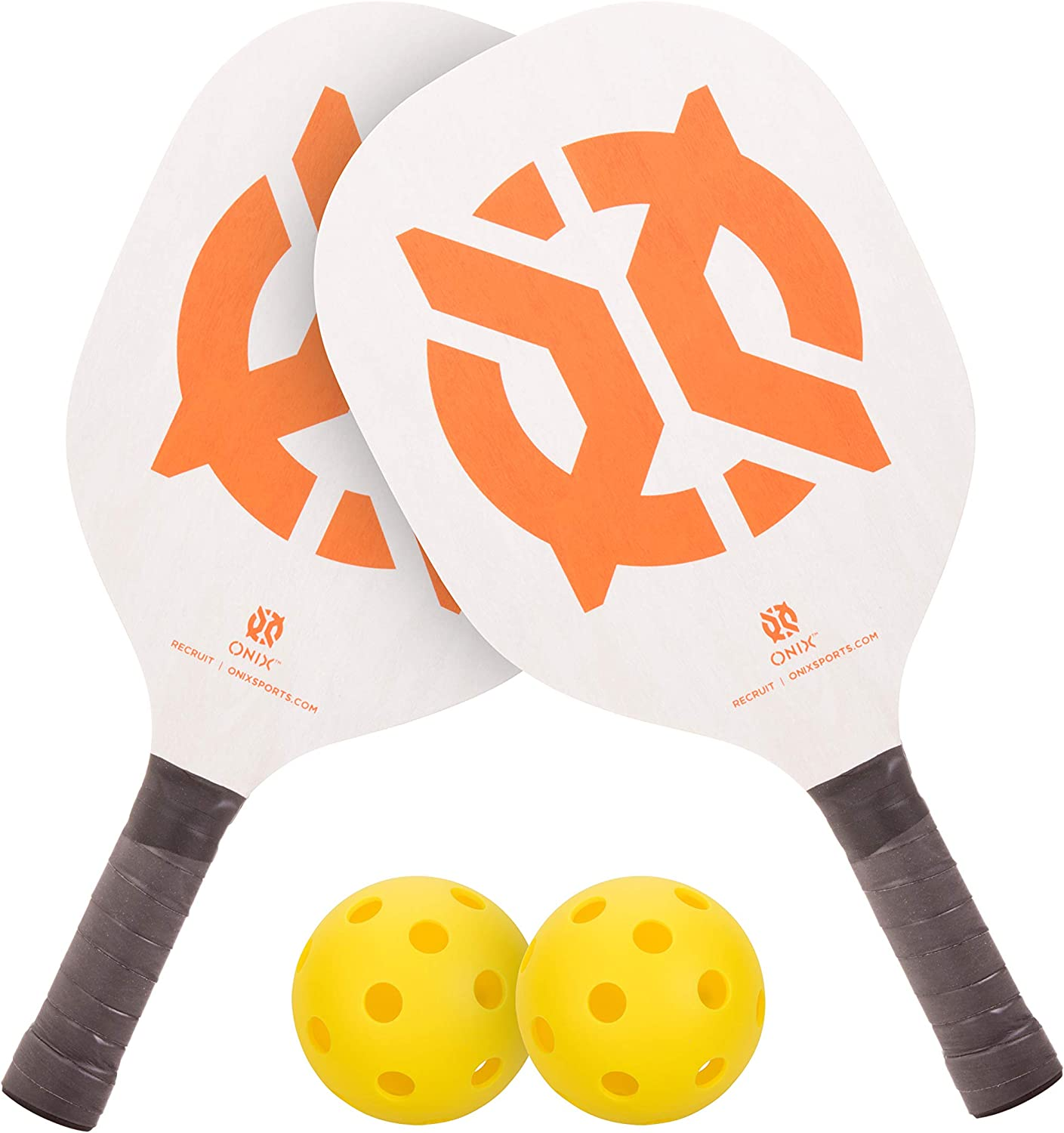Onix Recruit Pickleball Starter 25% OFF Set Pic Sales for sale Paddles and 2 Includes
