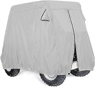 Leader Accessories Golf Cart Cover Storage Fit EZ Go, Club Car, Yamaha Cart W Zipper-2 Person/4 Person