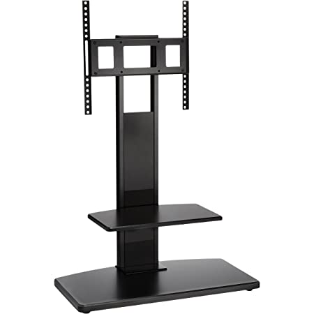 ハヤミ TIMEZ(タイメッツ)壁寄せテレビスタンド ~49v型対応 高さ調節可能 KF-370 ブラック
