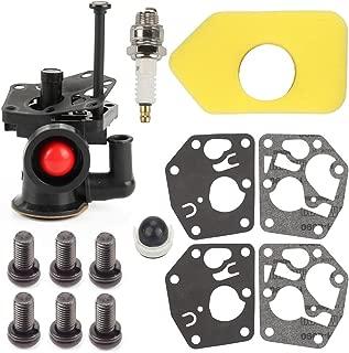 Harbot 795477 Carburetor + 698369 Air Filter + 795083 495770 Gasket + 494408 694394 Primer Bulb for Briggs Stratton 795469 794147 699660 794161 498811