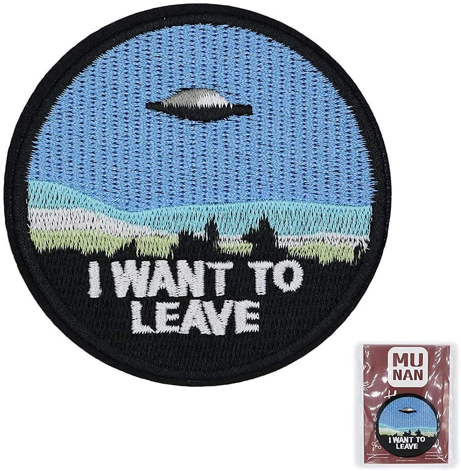 I Want Cheap mail order specialty store to Leave UFO Alien Embroidered On Sew Iron Cheap sale Applique Patch