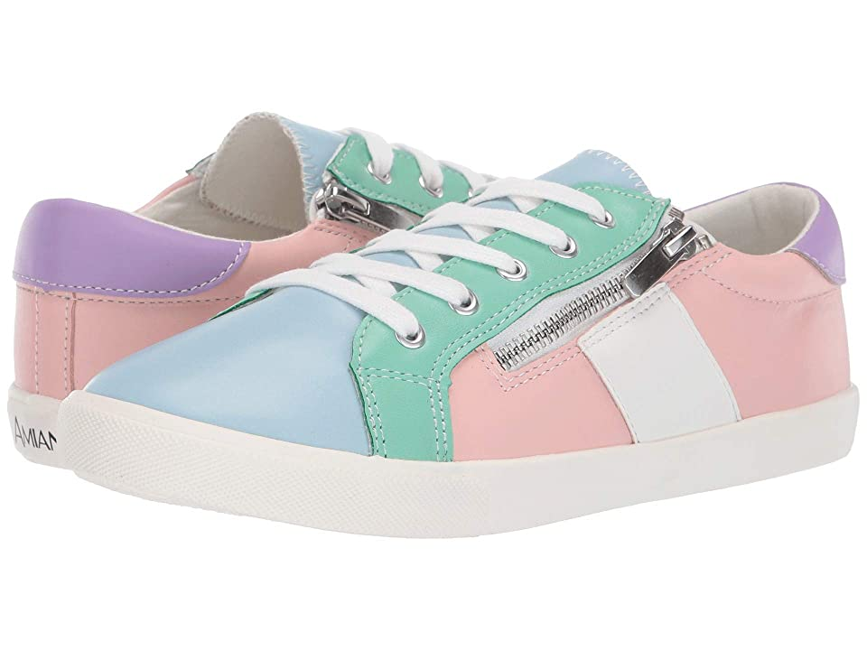 Amiana 15-A5466 (Toddler/Little Kid/Big Kid/Adult) (Pastel Color Block PU Combo) Girl