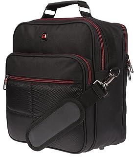 Christian Wippermann Flugbegleiter Umhängetasche Bag Arbeitstasche Herrentasche im Quer oder Hochformat Hochformat