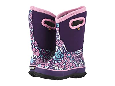 Bogs Kids Classic NW Garden (Toddler/Little Kid/Big Kid) (Grape Multi) Girls Shoes