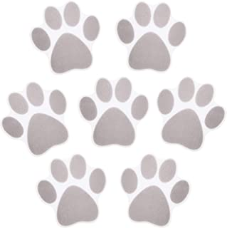 Mudder Non-Slip Bathtub Stickers Adhesive Paw Print Bath Treads Non Slip Traction to Tubs Bathtub Stickers Adhesive Decals...