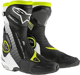 Alpinestars - Botas para Motocicleta, tamaño 43, Color Negro y Amarillo