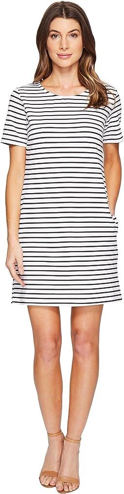 Culture Phit - Viggia Crew Neck Short Sleeve Dress