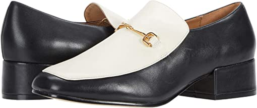 Black/Modern Ivory Modena Calf Leather
