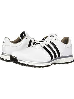 아디다스 남성 골프화 adidas Golf Tour360 XT Spikeless,Footwear White/Core Black/Silver Metallic