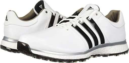 Footwear White/Core Black/Silver Metallic