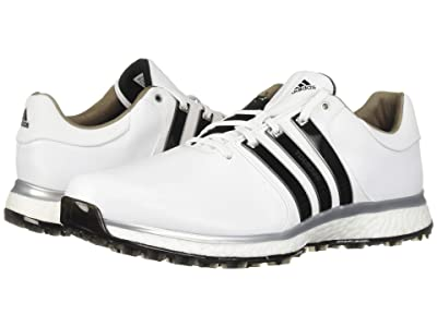 adidas Golf Tour360 XT Spikeless (Footwear White/Core Black/Silver Metallic) Men