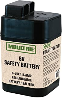Moultrie MFHP12406 6-Volt, 5-Amp Rechargeable Safety Battery