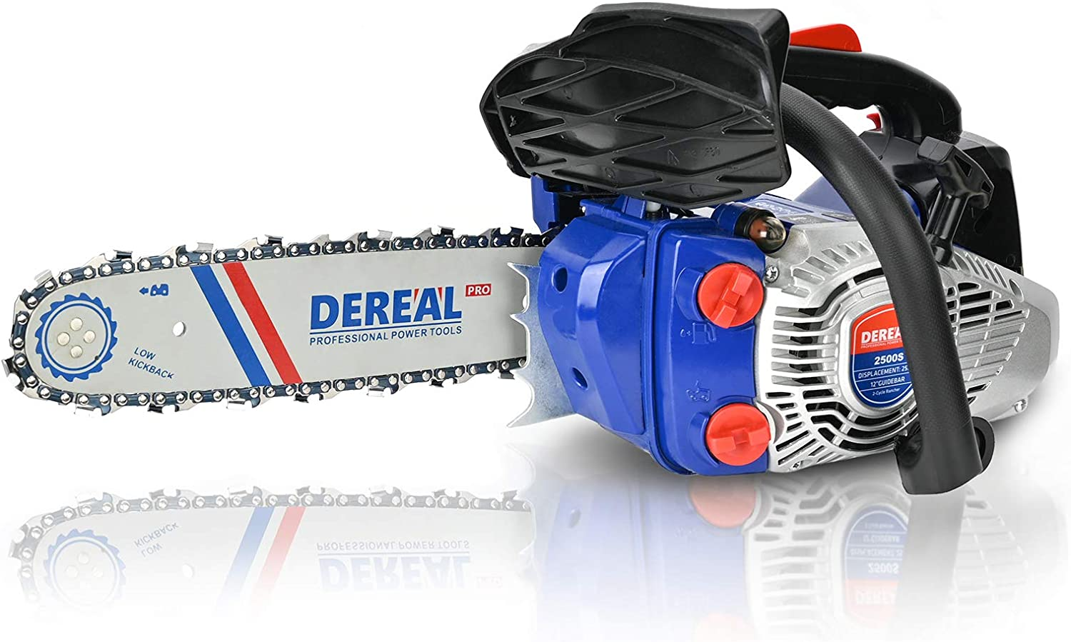 DEREAL Pro Max 43% OFF 25.4cc Gas-Chainsaw One-Hand S Spring new work Chainsaw 2 Lightweight