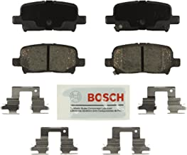 Bosch BE865H Blue Disc Brake Pad Set with Hardware For: Acura MDX; Honda Odyssey, Pilot, Rear