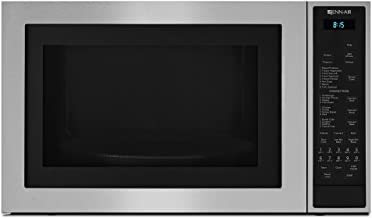 """Jenn-Air JMC3415ES 24.75"""" Counter top Microwave Oven with Convection Flush-to-Cabinet Design In-Wall Installation 14000 Watt Convection Element and 1.5 cu. ft. Capacity in Stainless"""