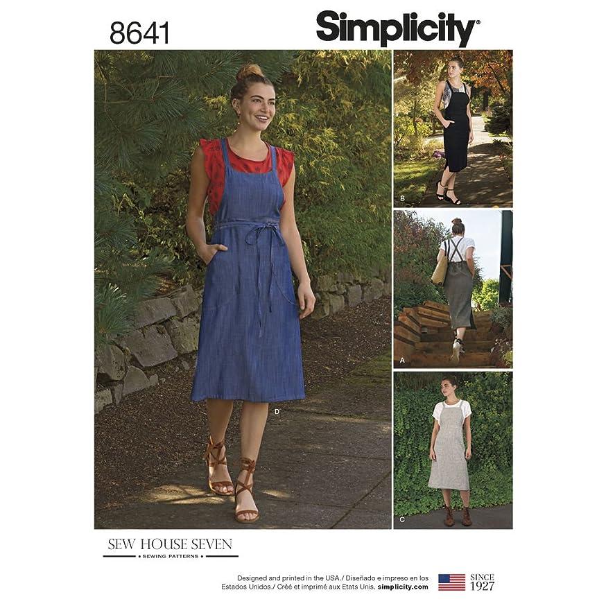 Simplicity Patterns US8641H5 Dresses H5 (6-8-10-12-14)