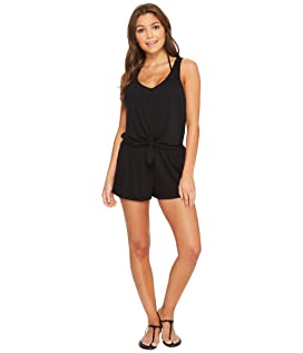 Breezy Basic Knot Romper Cover-Up