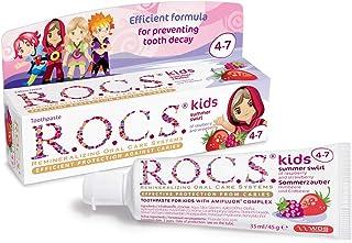 Rocs Kids 4-7 Ahududu Çilek Diş Macunu