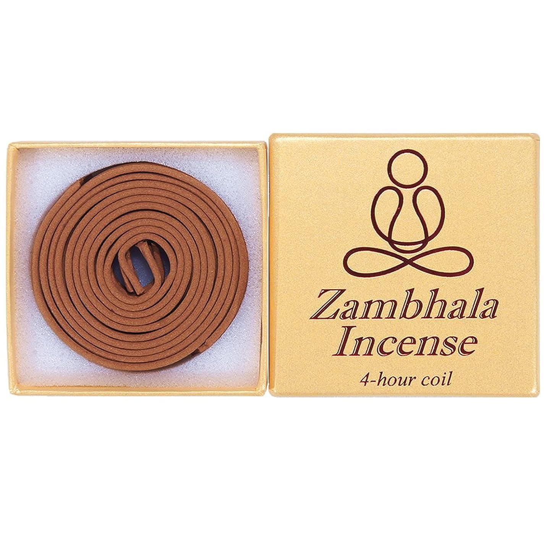 スーパーフラグラント風Zambhala Incense - 12?Pieces 4-hourコイル?–?100?% Natural?–?a004t