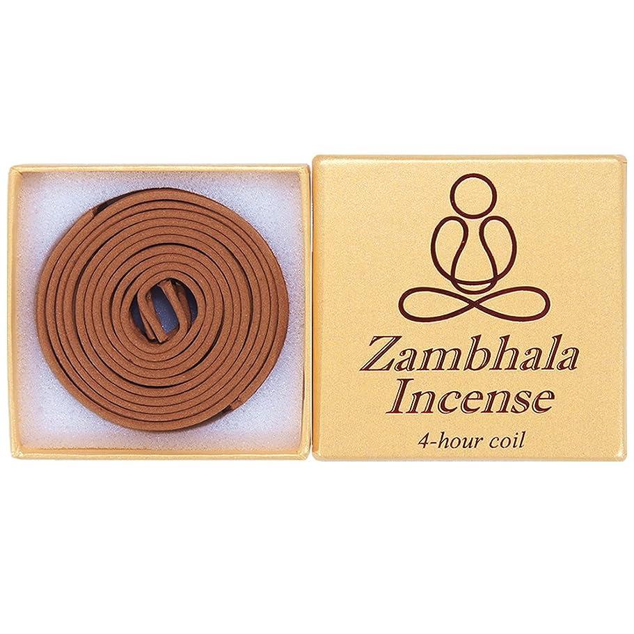 開始決定的依存するZambhala Incense - 12?Pieces 4-hourコイル?–?100?% Natural?–?a004t