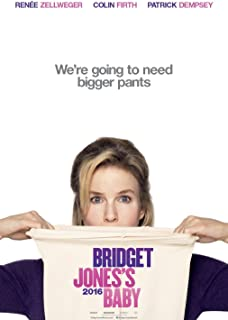 BRIDGET JONES'S BABY Original Movie Poster 27x40 - DS - ADVANCE - RENEE ZELLWEGER