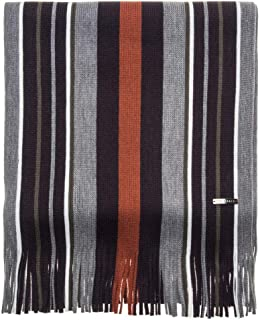 Ted Baker Men's Mxv-muster-xc9m-vertical Stripe Raschel Scarf